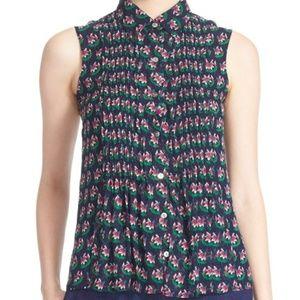 Diane Von Furstenberg 'Blakely' Floral Silk Top 8